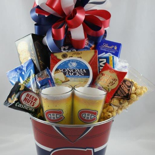 North bay gift baskets montreal canadiens fan beer bucket negle Image collections