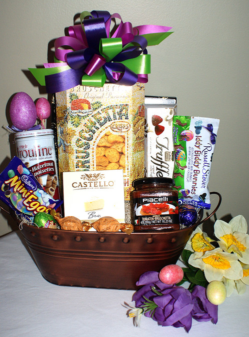 Gourmet easter basket north bay gift baskets negle Image collections
