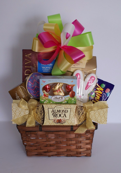 Truffles cookies easter basket north bay gift baskets negle Choice Image