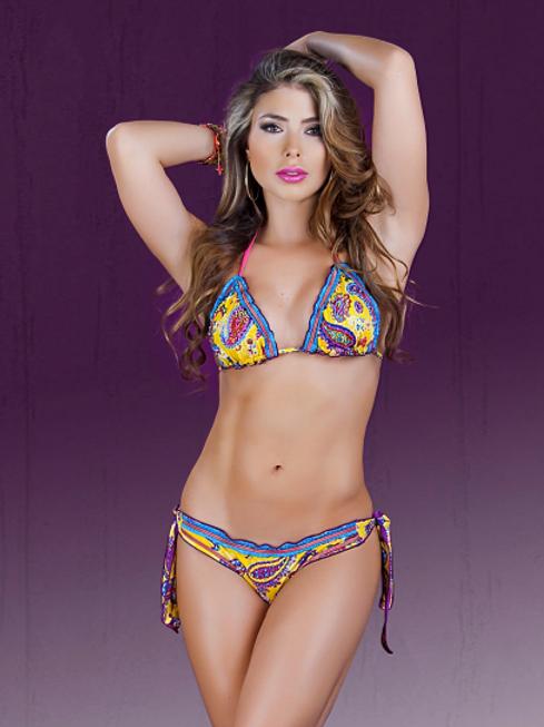 Cubanita Gypsy Yellow/ties