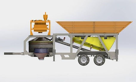 conmach mobile batching plant
