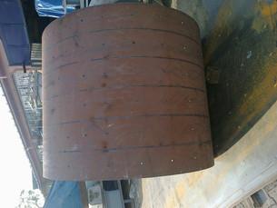 Centrale à Béton Mobile Mixer roller plate.