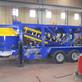 Mobile concrete batching plant sent to Kiyv, Ukraine.