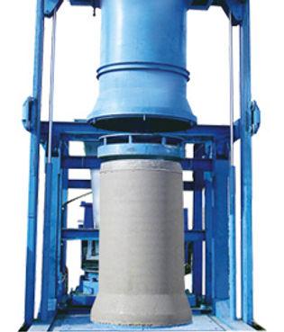 Conmach concrete pipe machine