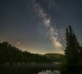 Milky Way over Rouge River
