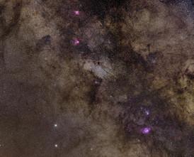 Milky Way Core Panorama
