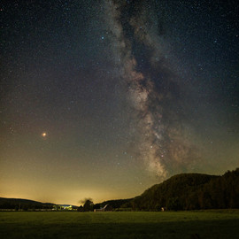 Milky Way over Rivington QC