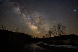 Milky Way over Ditton Creek
