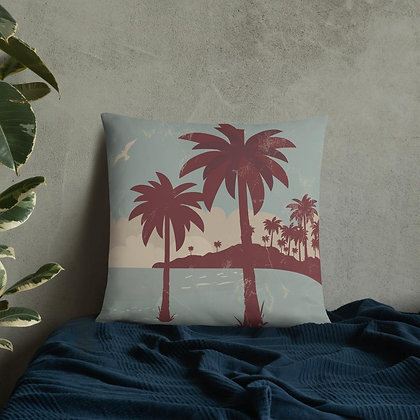 Palm Breeze Cushion Cover
