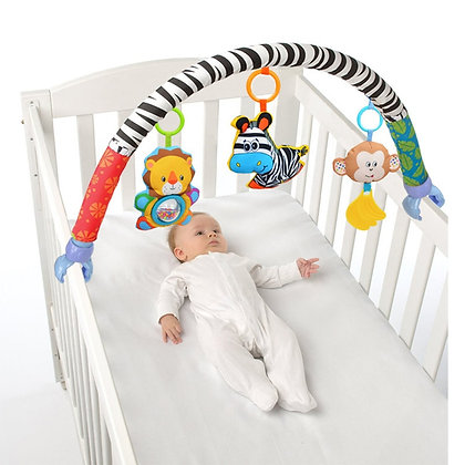 Babies Musical Mobile for Crib Plush Toys Arc on the Bed