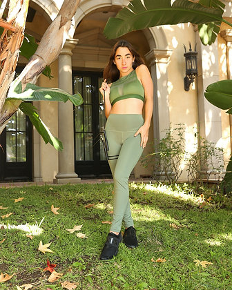 Huntington Leggings - Olive Green