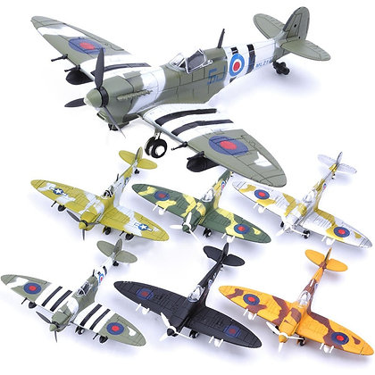 Diy Toys Fighter Assemble Blocks Building Model Airplane Military Model Arms