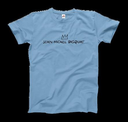 Jean-Michel Basquiat Signature With Crown T-Shirt