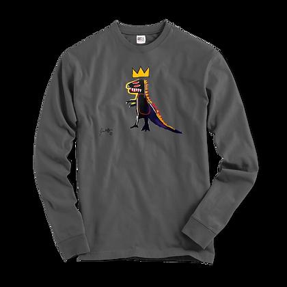 Jean-Michel Basquiat Pez Dispenser (Dinosaur) 1984 Artwork Long Sleeve Shirt