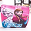 Thumbnail: Disney Princess Children Cartoon Plush Coin Pu Purse Mermaid Frozen Girl Bag