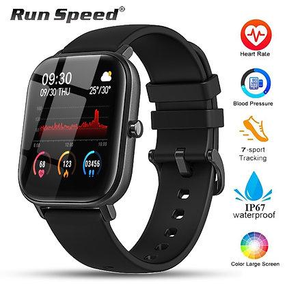 P8 Smart Watch Men Women  Waterproof Fitness Tracker Sport Heart Rate Monitor