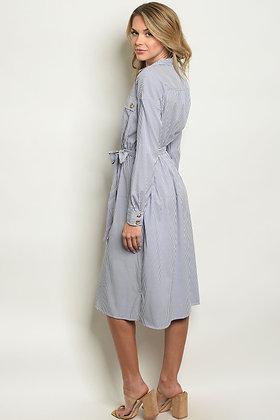 Womens Stripes Dress