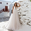 Thumbnail: Verngo A-Line Wedding Dress Lace Appliques Wedding Gowns Elegant Bride Boho