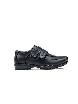 Double Fastening Shoe Black