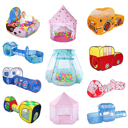 Portable Children's Tent Toys Kids Play Tents Indoor Outdoor Play House