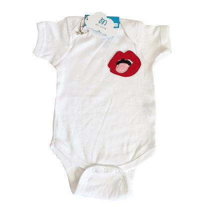 Baby Onesie - Lips - Mi Cielo X Donald Robertson