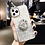 Thumbnail: Glitter Marble Diamond Ring Holder Silicone Phone Case for Iphone Samsung