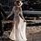 Thumbnail: Boho Wedding Dress A-Line V-Neck Sleeves Wedding Dresses Backless Beach