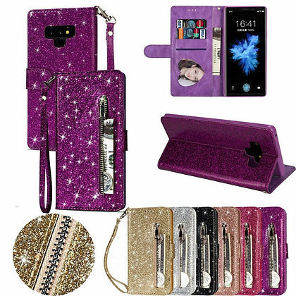 Bling Case for Samsung Galaxy A70 A50 A40 A30 A20 A10 A21 A51 A71 Leather Flip
