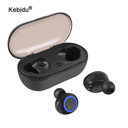 Wireless Earbuds TWS Bluetooth 5.0 Earphone Stereo Waterproof Sport Earphones