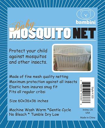 Bambini Crib Mosquito Net