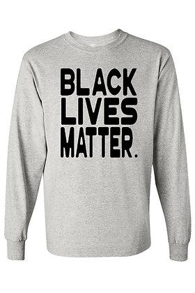 Men's Long Sleeve Shirt Black Lives Matter