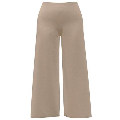 High-Waist Gaucho Pants