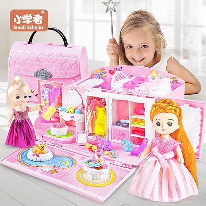 Doll House Hand Bag Accessories Cute Furniture Miniature Dollhouse Birthday Gift