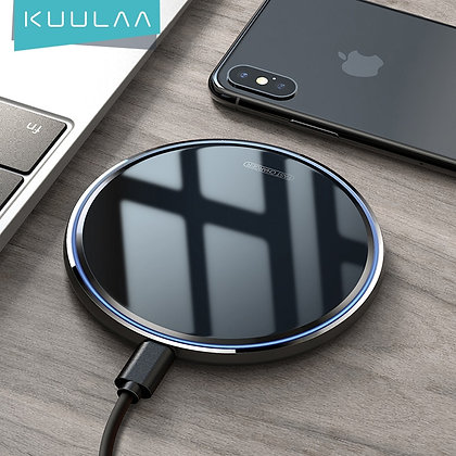 Wireless Charger 10W for Samsung S10 Note 10 Plus Wireless Charging for iPhone