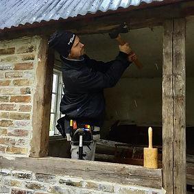 Lite fönstermontering och lite portmaker