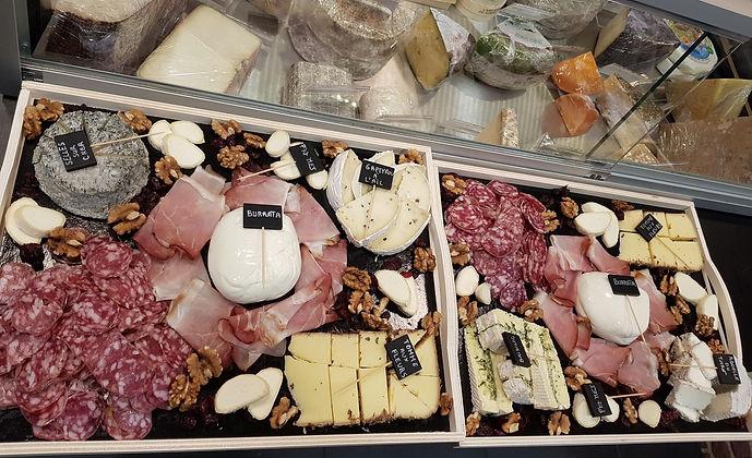 Plateaux de fromages à emporter