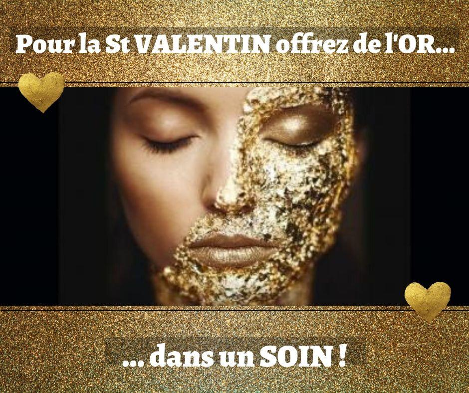Pour la Saint Valentin offrez de l'Or...
