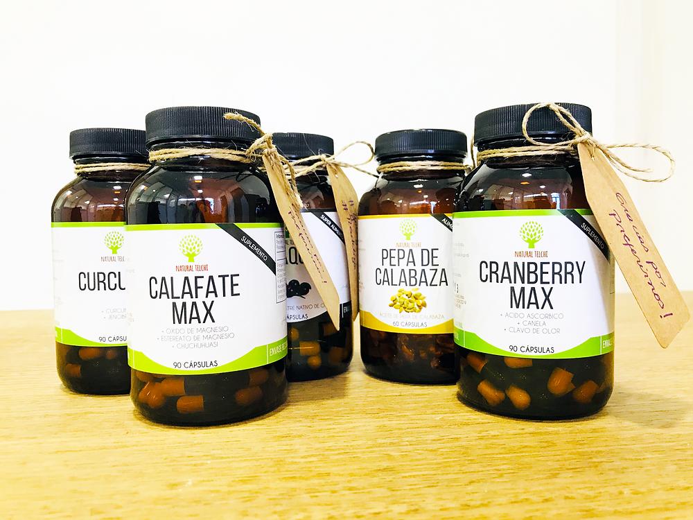 Blog Natural Telchi. Suplementos Naturales: Calafate Max, Cranberry Max, Curcujen, Maqui, Pepa de Calabaza.