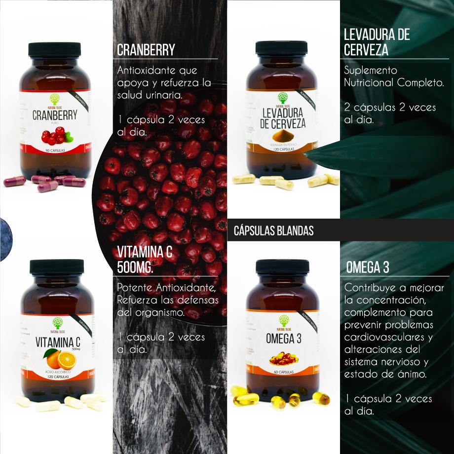 Catálogo de Suplementos Alimenticios Natural Telchi