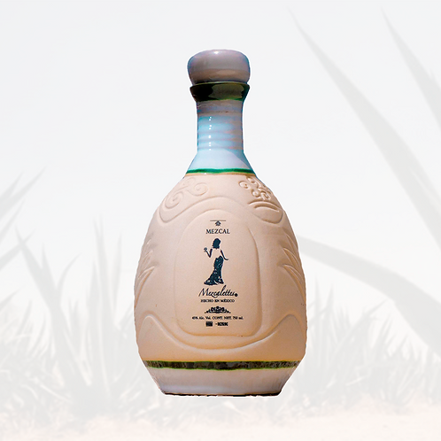 Botella Talavera Cerámica