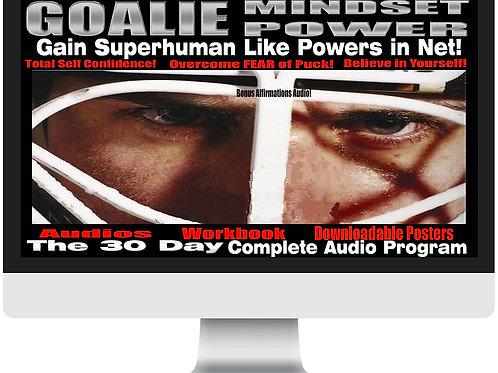 Goalie Mindset Power 30 Day Audio Program