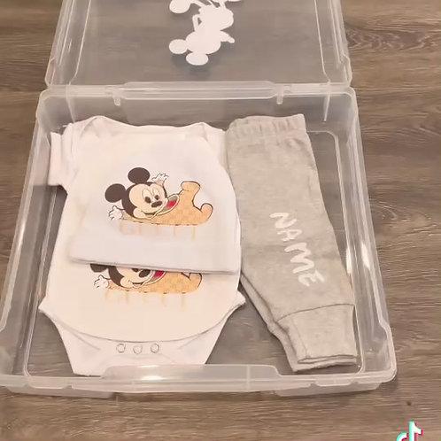 Baby Mickey Gucci gift set