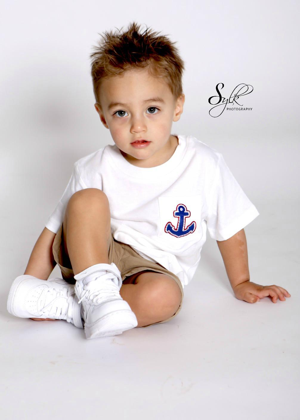 Boy's Nautical Tshirt $10