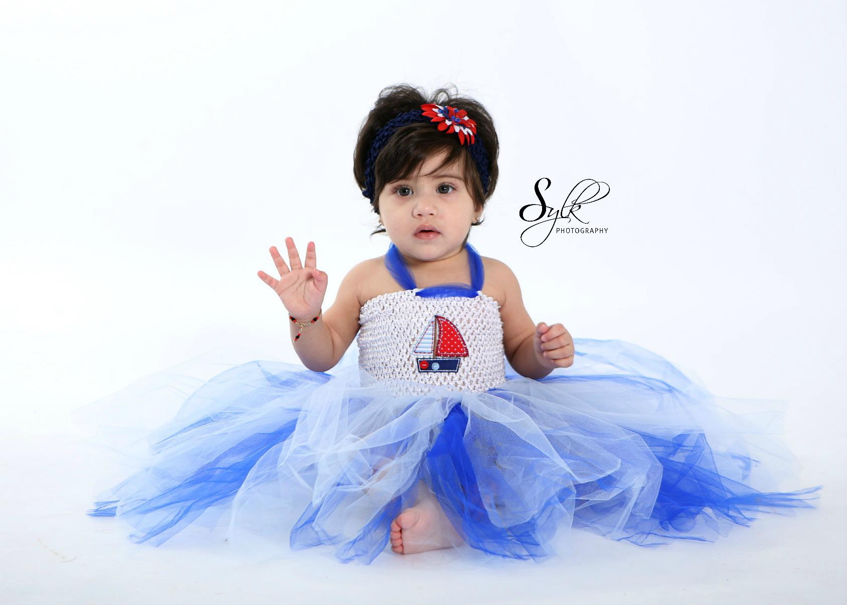 Nautical Tutu dress set $25