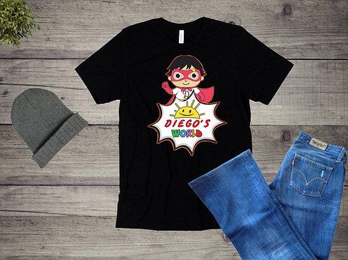 Origenel-Diego's World T-Shirt