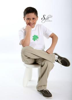 Boy's 4 leaf clover Tshirt $10