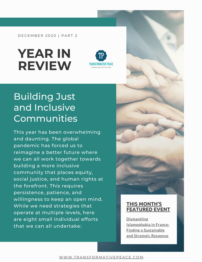 Building Just and Inclusive Communities