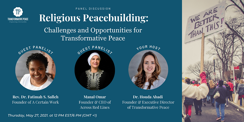 Religious Peace-building: Challenges and Opportunities for Transformative Peace