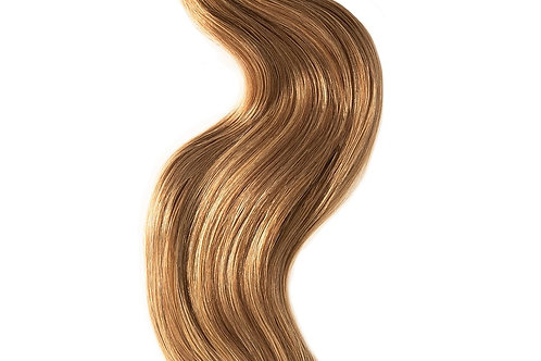 #16 CARAMEL BLONDE CLIP IN HAIR EXTENSIONS 150 GRAMS From