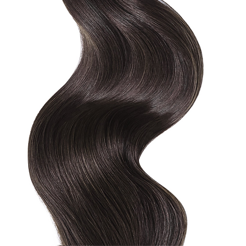 #2 DARK CHOCOLATE BROWN WEFT HAIR EXTENSIONS From